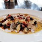 本日の鮮魚料理お魚本来の味を引き出すイタリアの調理法アクアパッツァで。