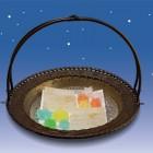 干し錦玉 星莚(せいえん)60g ¥540 透明なパッケージ入
