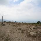 山頂から中津川市街を望む
