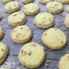 サクサクのクッキー、サブレです。  ナッツのサブレ、紅茶のサブレ、チーズのサブレがあります。