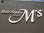 ヘアースタジオ M'sのロゴ