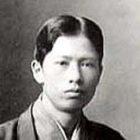 菱田春草(1874~1911) 明治7年、飯田・仲之町の生まれです。 代表作は『落葉』、『黒き猫』など