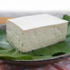 大鹿地大豆とうふ 幻の大豆「中尾早生」を100%使用したとうふです。